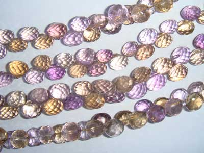 Ametrine Faceted Onion