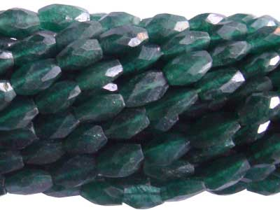 Green Aventurine Faceted Oval